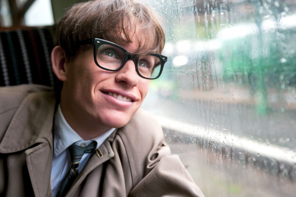Eddie Redmayne as Stephen Hawking