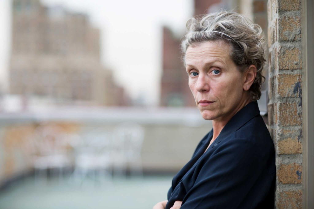 Frances McDormand in New York, Sept. 29, 2014. McDormand, an Oscar-winning actress who set the HBO mini-series âÄúOlive KitteridgeâÄù in motion and stars in it, chafes at HollywoodâÄôs conventions and defies its norms. (Alison Cohen Rosa/The New York Times) -- PHOTO MOVED IN ADVANCE AND NOT FOR USE - ONLINE OR IN PRINT - BEFORE OCT. 19, 2014.