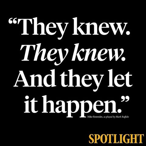 spotlight-they-knew